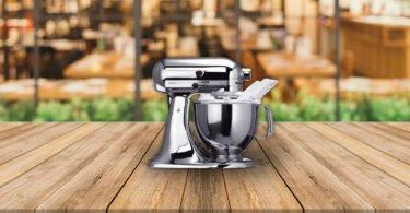 le test kitchen aid robot multifonction artisant 5ksm150psecr