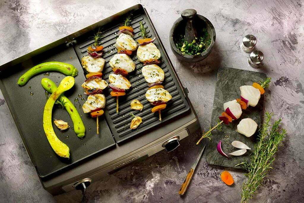 oneConcept Porterhouse Barbecue électrique Grill de table